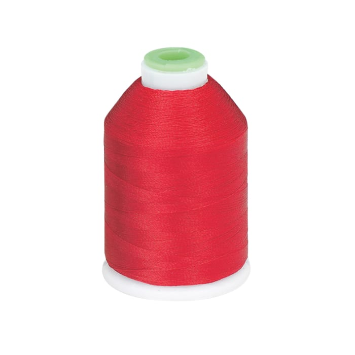 Coats & Clark Trilobal Embroidery Thread 1100 YD Red