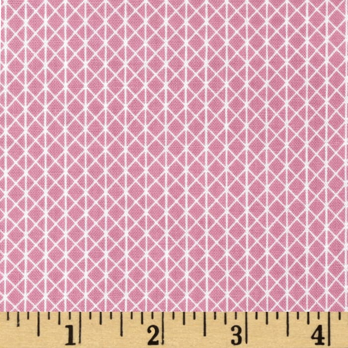 Cotton + Steel Netorious Melody Pink