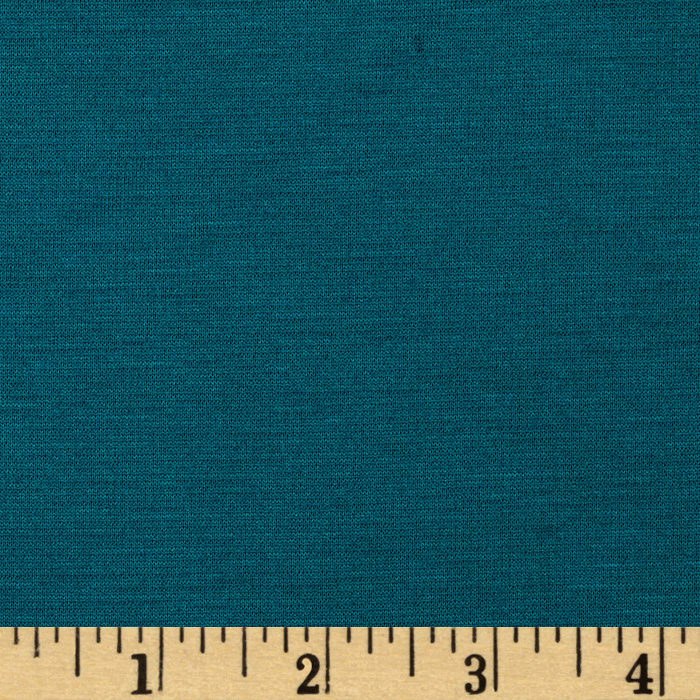 Ponte de Roma Double Knit Teal