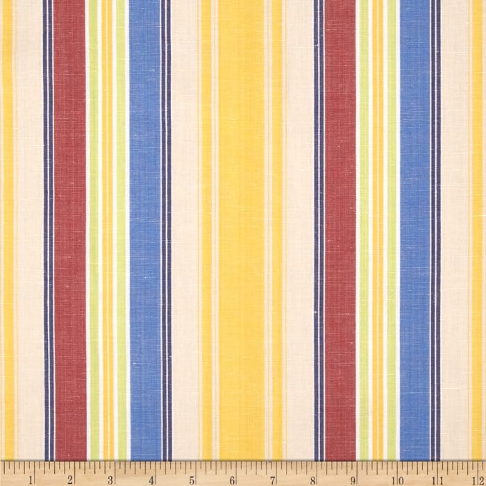 Robert Allen Promo Primary Stripe Yarn Dyed Canary