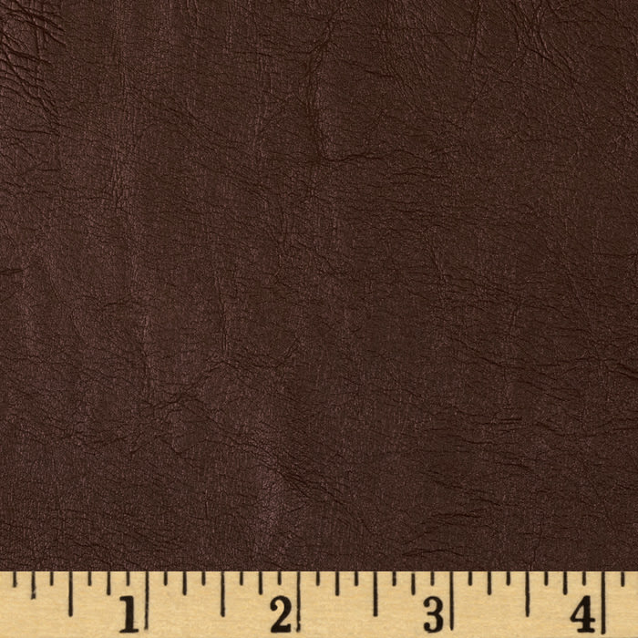 Richloom Faux Leather Crickled Chocolate