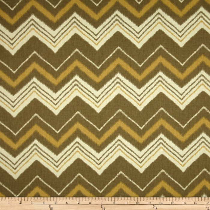 Swavelle/Mill Creek Terrabone Chevron Buckwheat