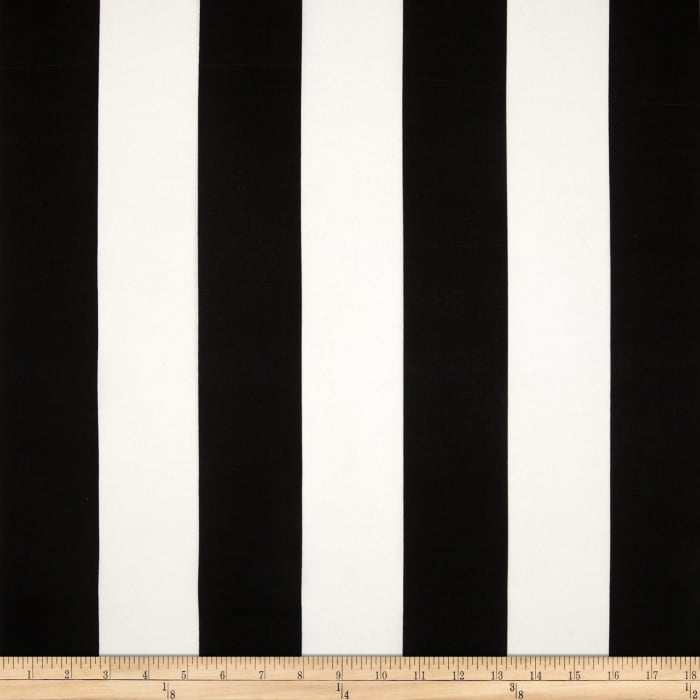 Premier Prints Indoor/Outdoor Vertical Stripe Black