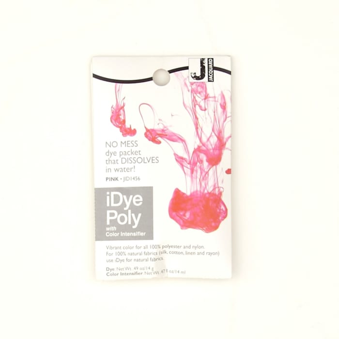 Jacquard iDye Poly Synthetic Dye Pink