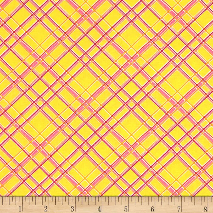 Gramercy Hudson Plaid Yellow