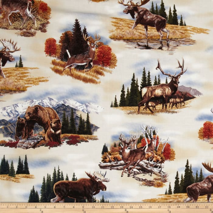 Bringing Nature Home Animal Collage Earth