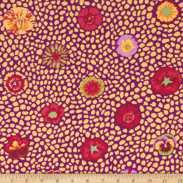 Kaffe Fassett Collective Guinea Flower Yellow