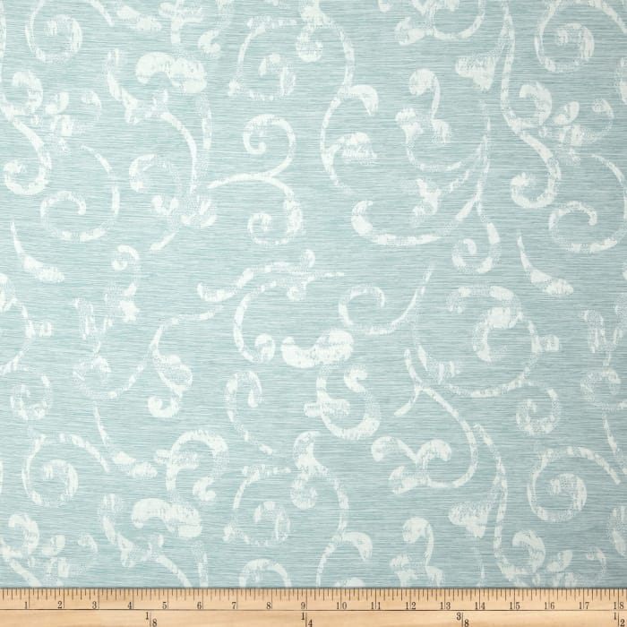 Eroica In Motion Damask Jacquard Mist