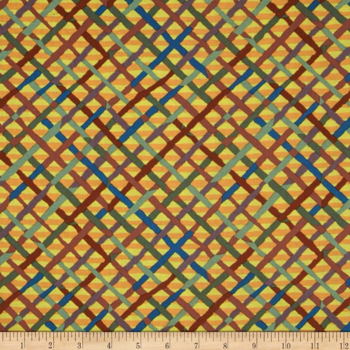 Kaffe Fassett Collective Mad Plaid Autumn