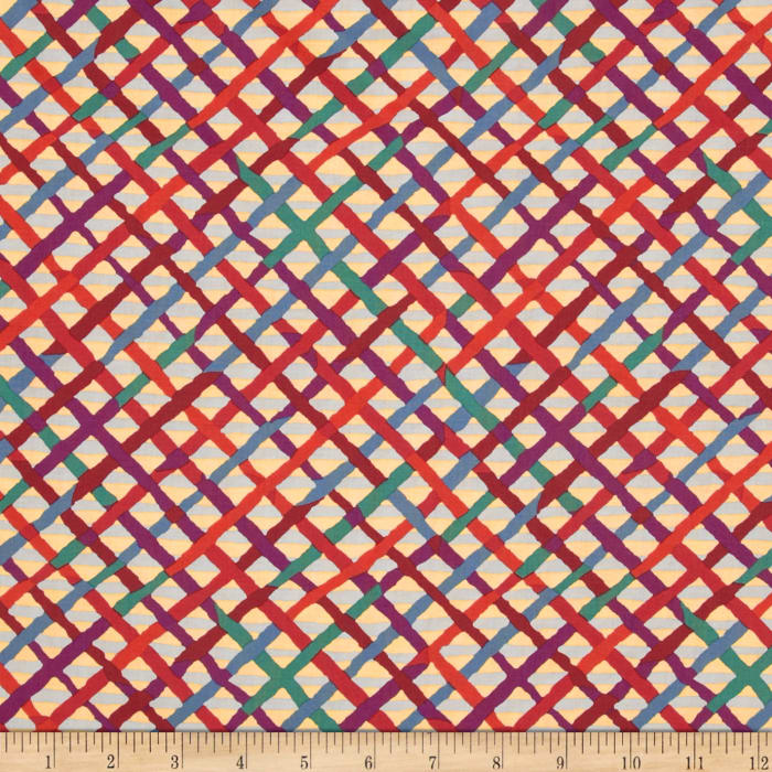Kaffe Fassett Collective Mad Plaid Curry