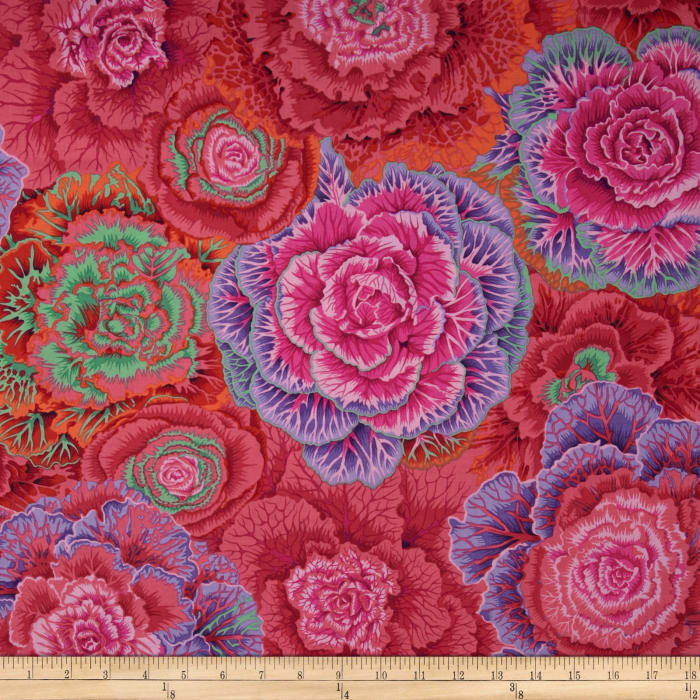 Kaffe Fassett Collective Brassica Red