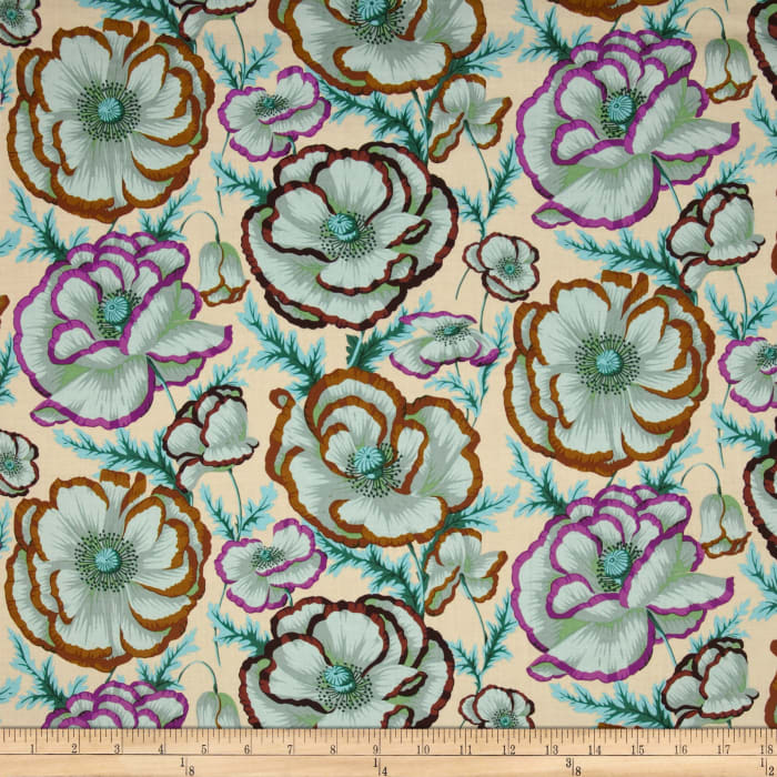 Kaffe Fassett Collective Banded Poppy Peach