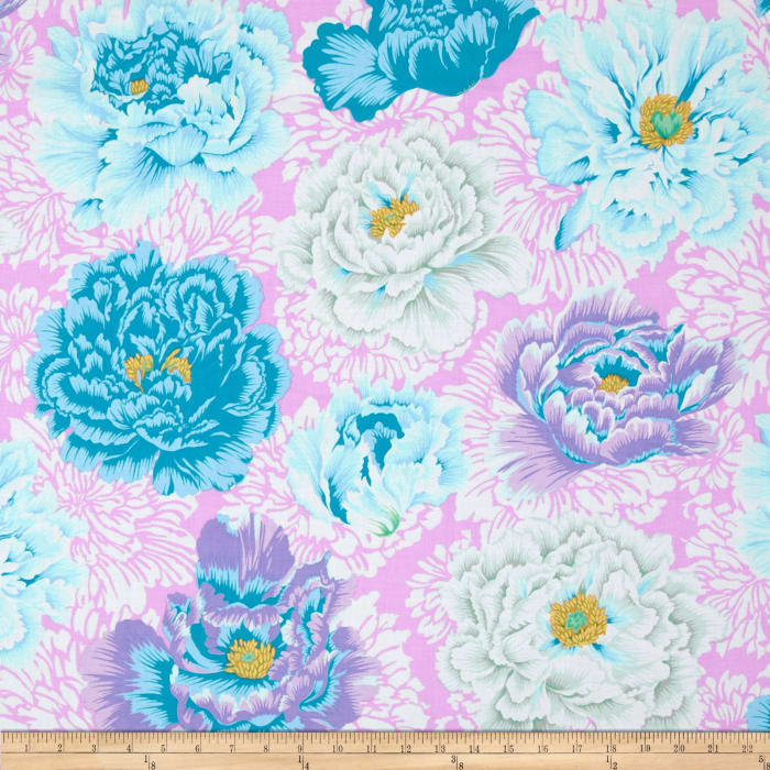 Kaffe Fassett Collective Brocade Peony Powder