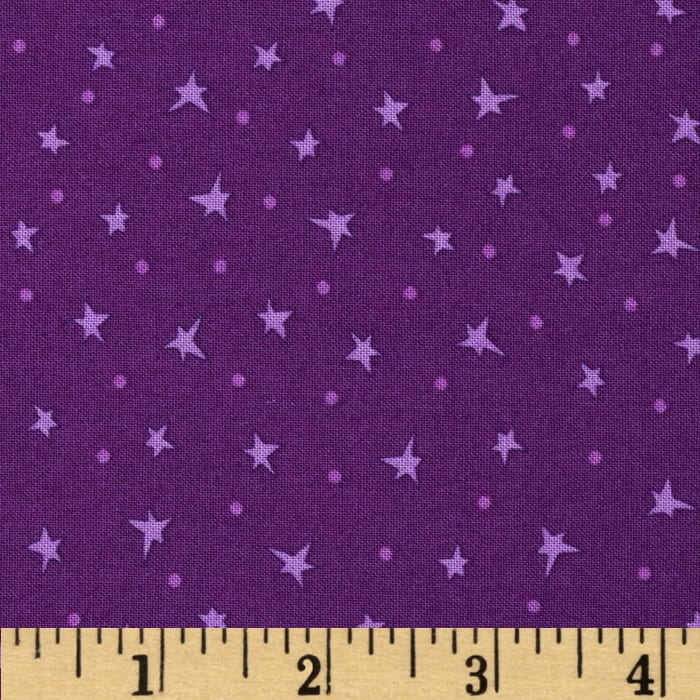 Silly Gilly & Friends Stars Purple