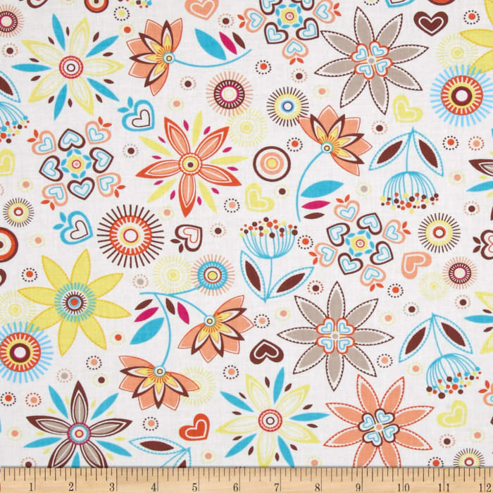 LuLu Large Floral Peach