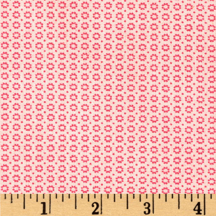 Dots and More Mini Flower Heads Pink