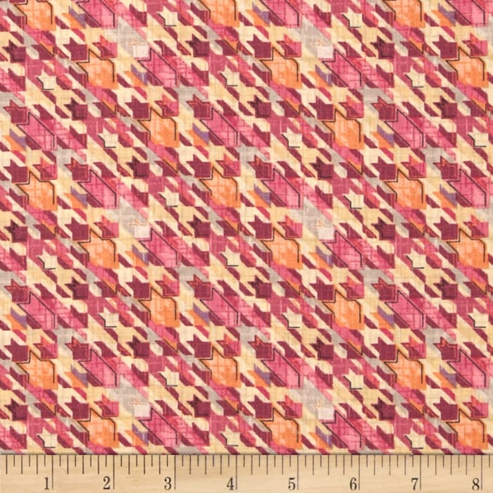 Meadowlark Abstract Stars Pink