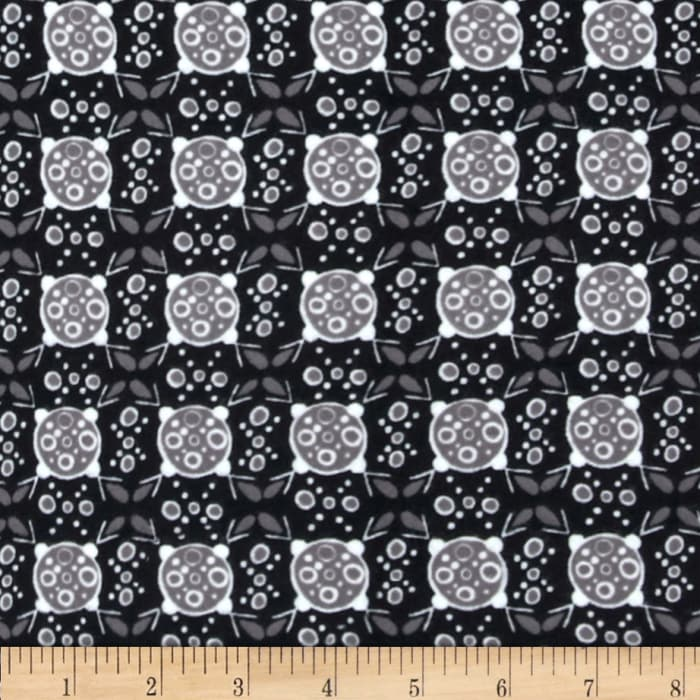 Valori Wells Ashton Road Flannel Geo Plaid Black