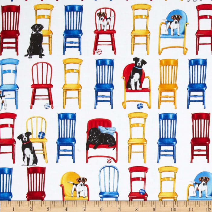 Everyday Favorites Chairs & Dogs Primary