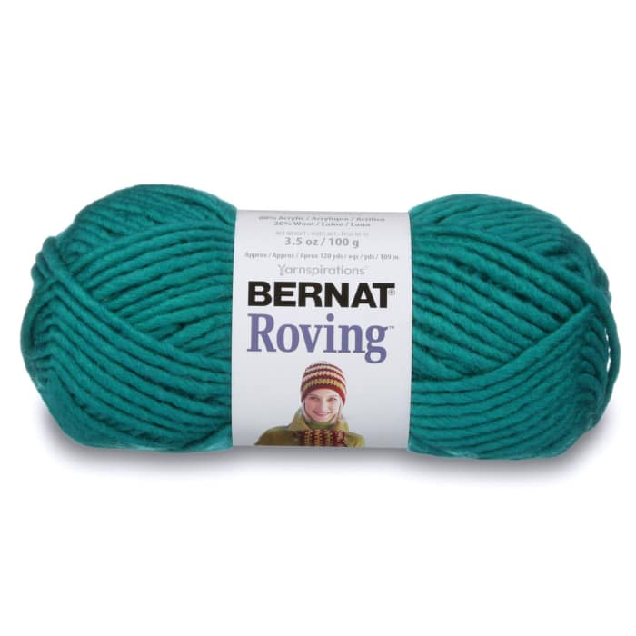 Bernat Roving Yarn Teal