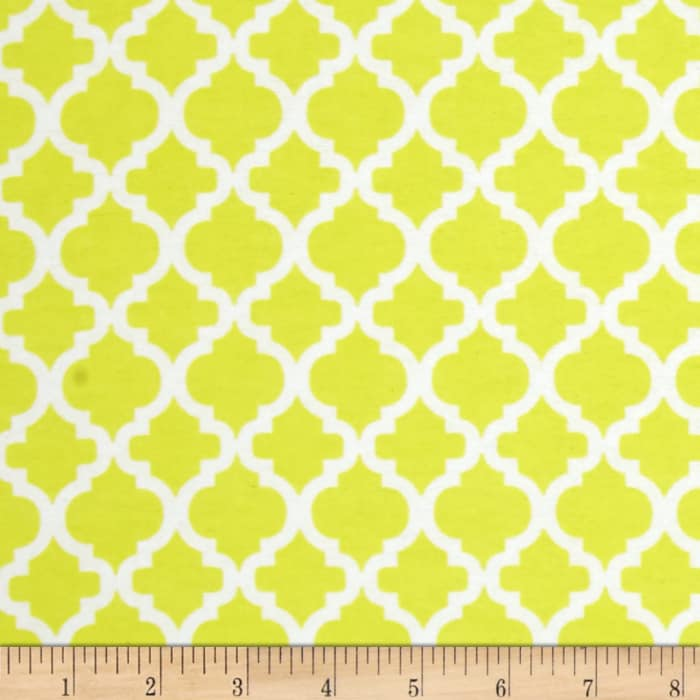 Dreamland Flannel Bella Sunshine Yellow