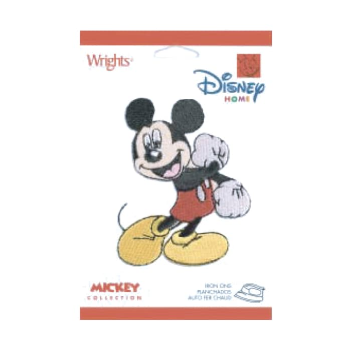 Disney Mickey Mouse Iron On Applique Mickey Fist