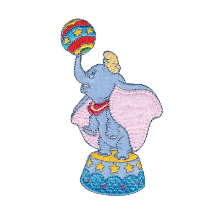 Disney Dumbo With Ball Iron On Applique