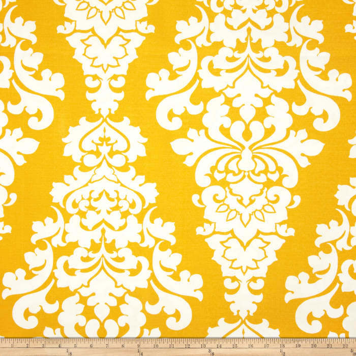 Premier Prints Indoor/Outdoor Berlin Yellow