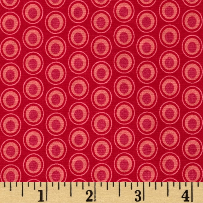 Art Gallery Elements Oval Cranberry