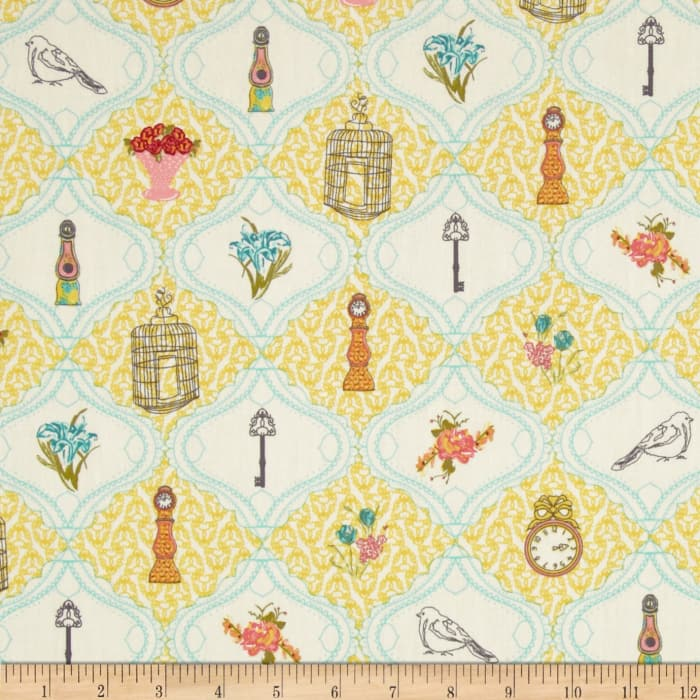Art Gallery Lilly Belle French Sampler Creme