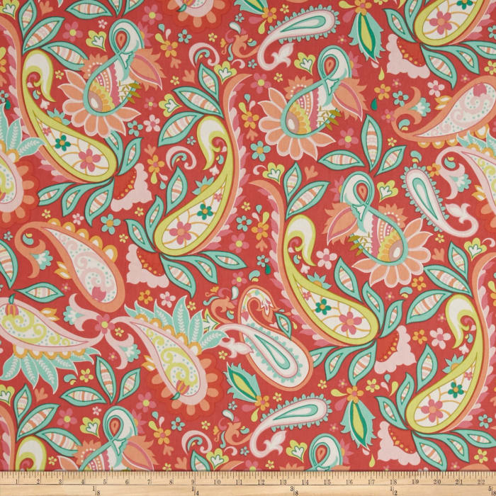 Riley Blake Home Decor Sweet Floral Red