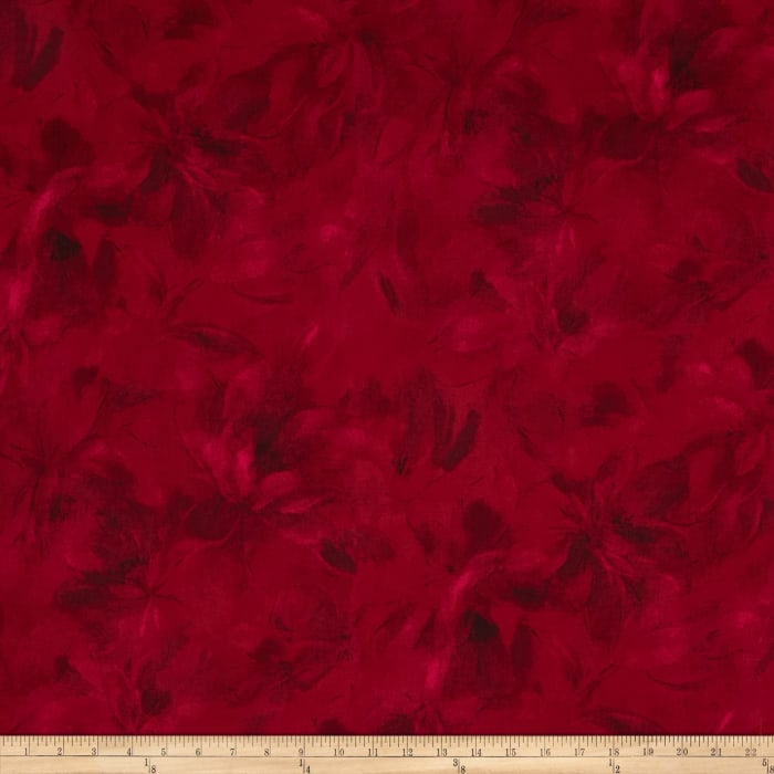Carnival Textured Floral Tonals Cherry