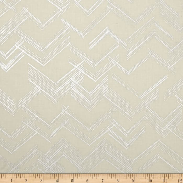 Simply Sterling Metallic The Right Angle Cream/Silver