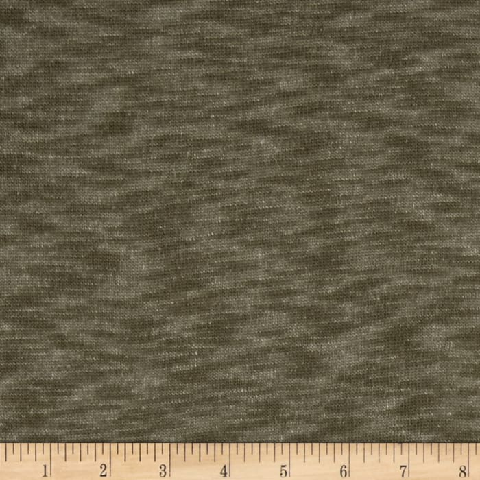 Heather Hatchi Sweater Knit Olive