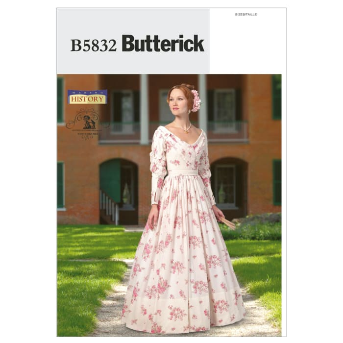 Butterick Misses' Dress Pattern B5832 Size A50