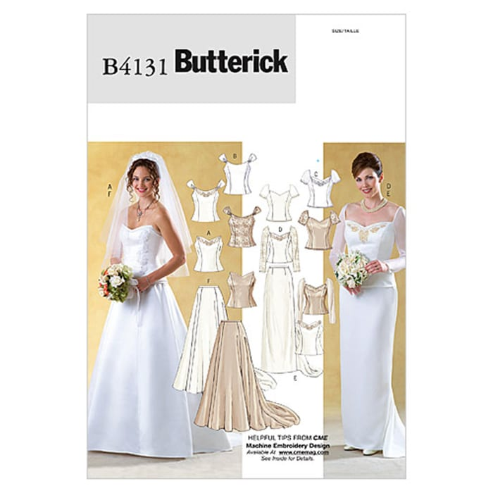 Butterick Misses' Top and Skirt Pattern B4131 Size 060