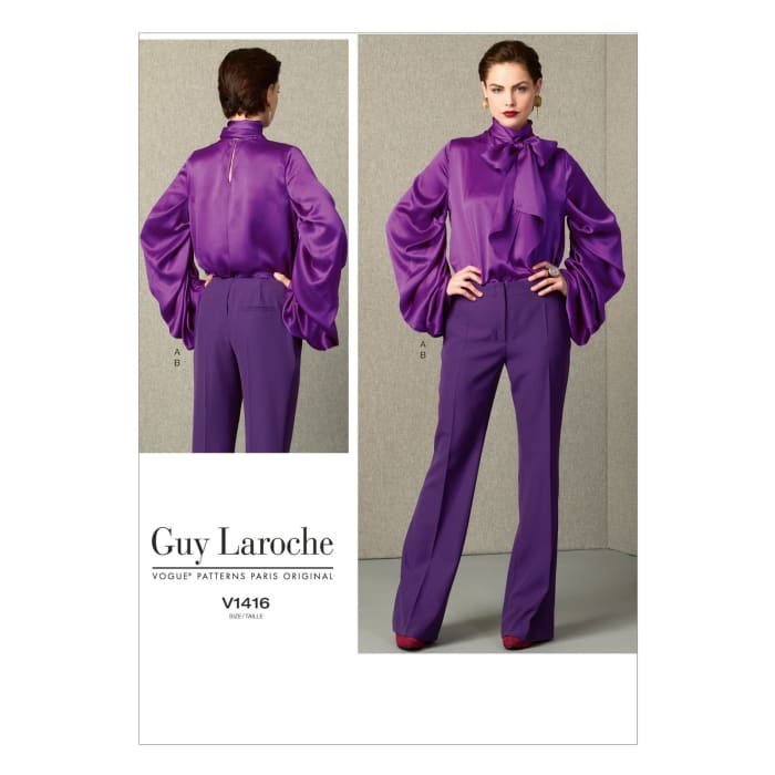 Vogue Misses' Top and Pants Pattern V1416 Size A50