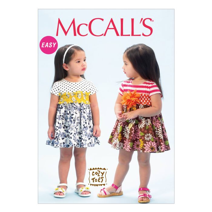McCall's Toddlers' Dresses Pattern M6943 Size CAA