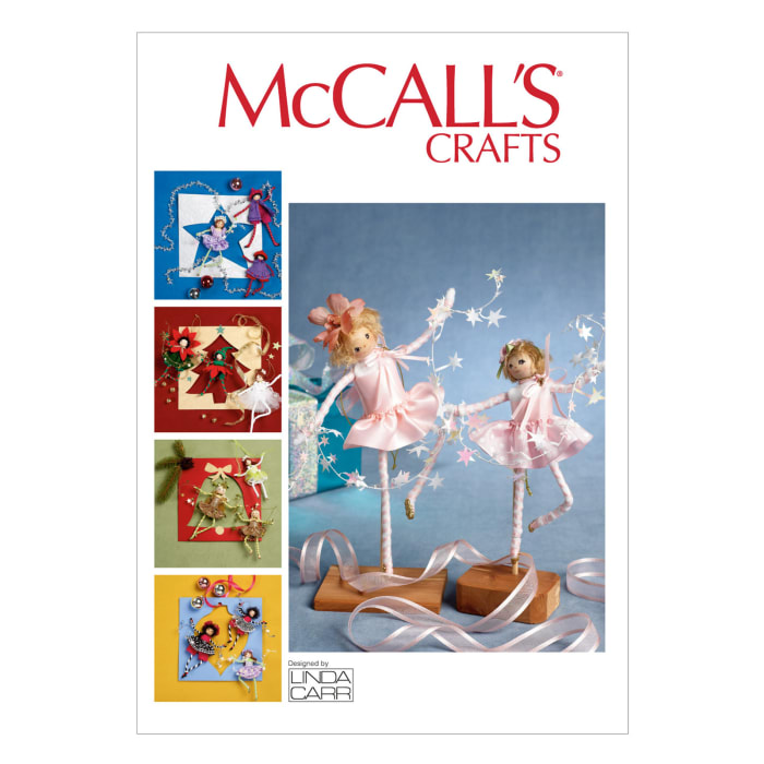 McCall's Pixie Decorations Pattern M6861 Size OSZ