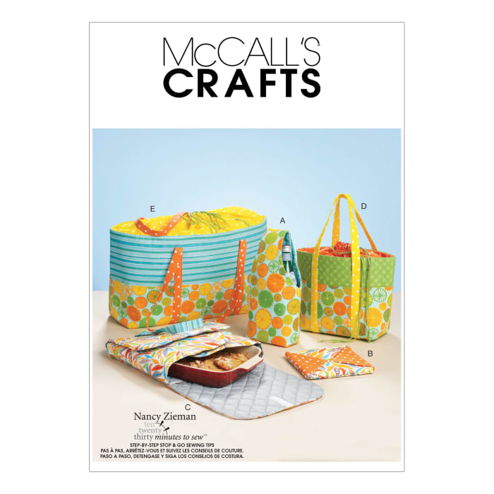 McCall's Carriers, Hot Pad and Picnic Totes Pattern