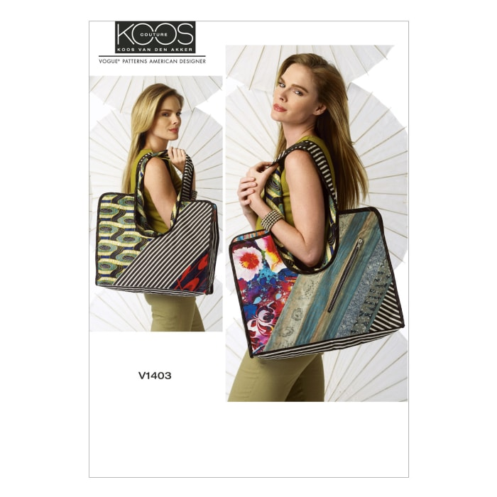Vogue Bags Pattern V1403 Size OSZ