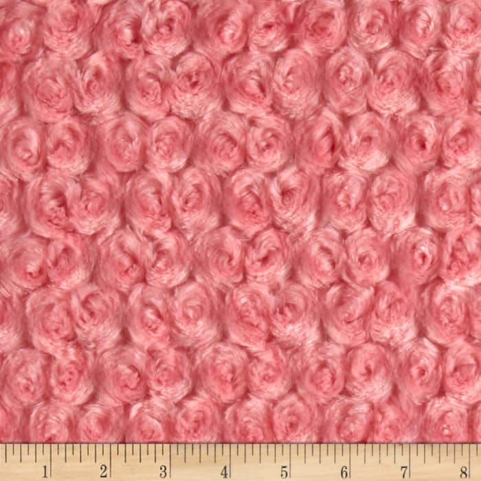 Shannon Minky Rose Cuddle Coral