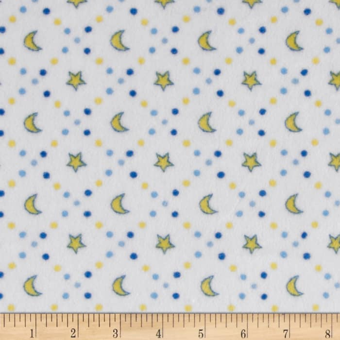 Shannon Minky Cuddle Classic Baby Starlight Blue
