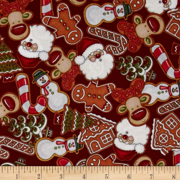 Holly Jolly Cookies Red
