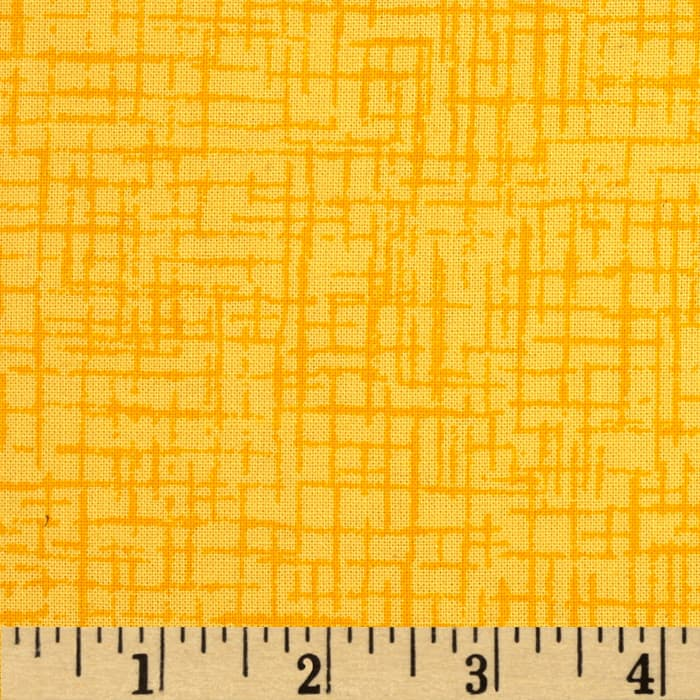 110 In. Wide Quilt Back Betula Yellow