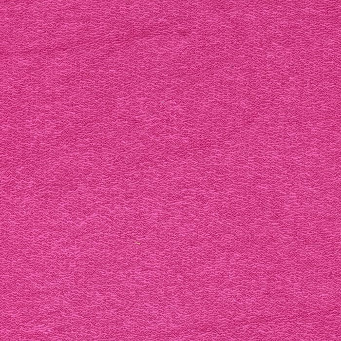 Telio Stretch Rayon French Terry Knit Fuchsia