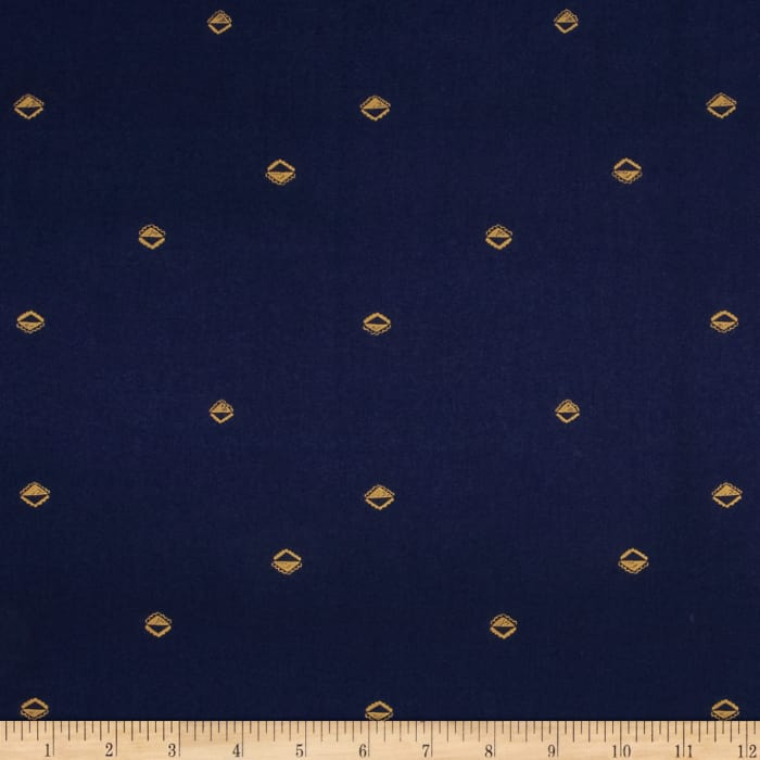 Cotton + Steel Mesa Lawn Sunrise Navy