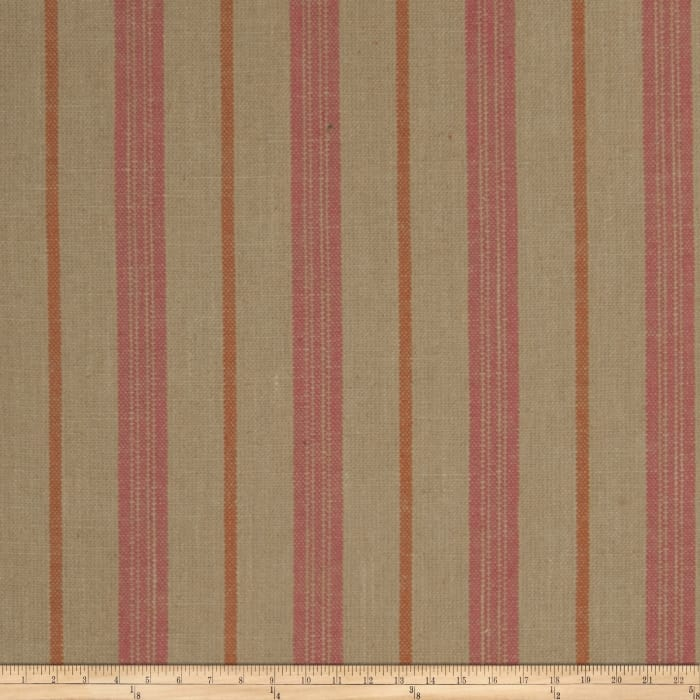 Jaclyn Smith Stamford Stripe Blend Redbud