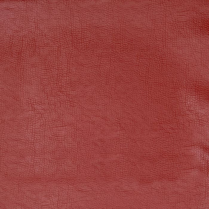 03343 Faux Leather Rust