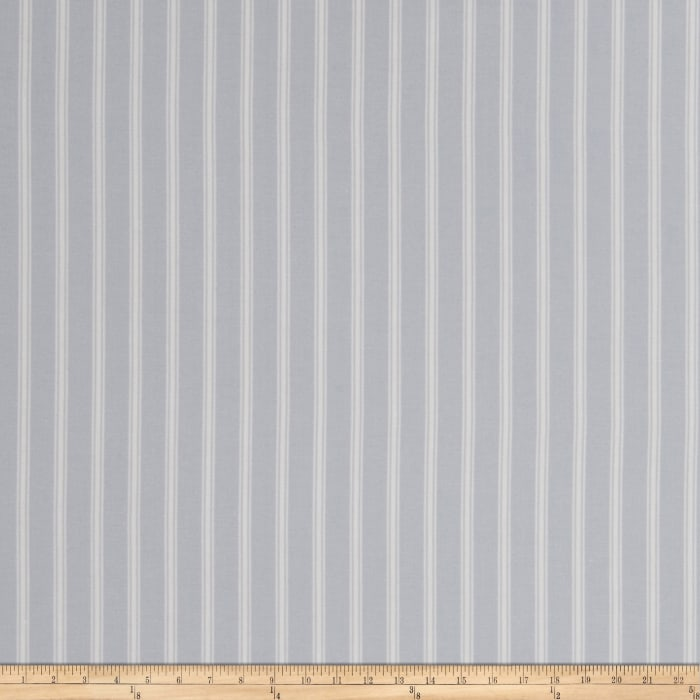 Jaclyn Smith Cassette TIcking Stripe Chambray